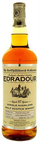 Edradour Scotch Single Malt 10 Year